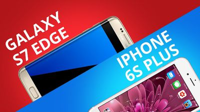 Galaxy S7 EDGE VS iPhone 6s Plus [Comparativo]
