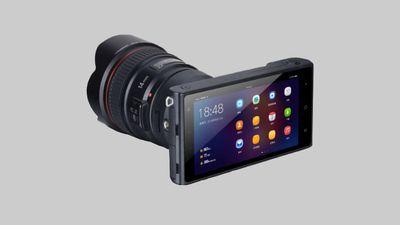 Fabricante chinesa cria câmera com Android 7.1 com suporte para lentes Canon