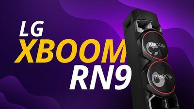 LG XBOOM RN9: Luzes, Bluetooth e Caixa Acústica