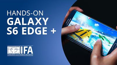 Galaxy S6 Edge Plus: o grandalhão de tela curva da Samsung [Hands-on   IFA 2015]