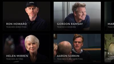 Site traz curso de cinema com Scorsese e outros famosos de diferentes áreas