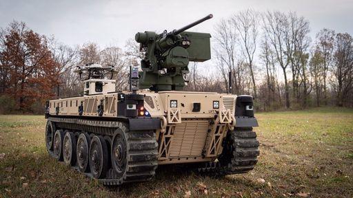 EUA começam a testar sua 1ª geração de veículos de combate robóticos