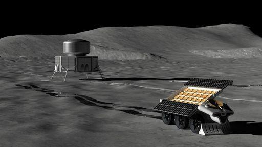 Radiotelescópio será construído no lado afastado da Lua usando recursos locais
