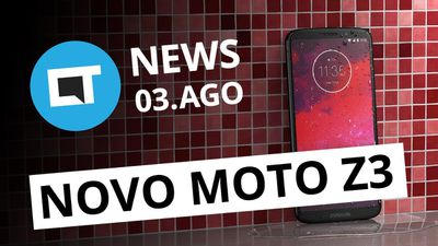 Moto Z3 com Snap 5G; Vídeo do Galaxy Note 9; Smartphone com 4 telas [CT News]