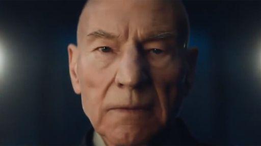 CBS libera primeiro teaser de Star Trek: Picard, nova série sobre o capitão