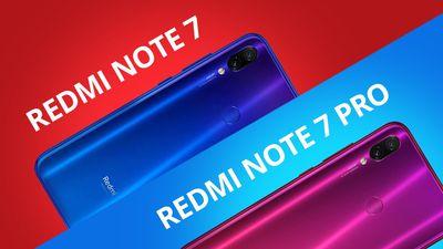 Redmi Note 7 vs. Redmi Note 7 PRO [Comparativo]