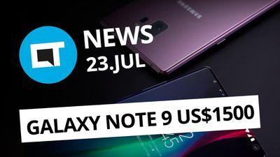 Galaxy Note 9 por quase US$ 1.500; Alcatel 3C chega ao Brasil e + [CT News]