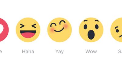 Brasileiros estão entre os que mais usam as Reações do Facebook no mundo