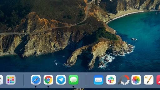 Como organizar o Dock do Mac com separadores