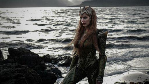 Mera, Rainha de Atlantis, aparece em imagens de Liga da Justiça