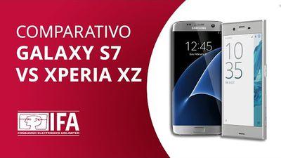Sony Xperia XZ vs Samsung Galaxy S7 [Comparativo]