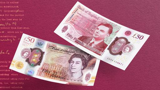 Alan Turing é homenageado com cédula de £50 que dificulta falsificação; veja