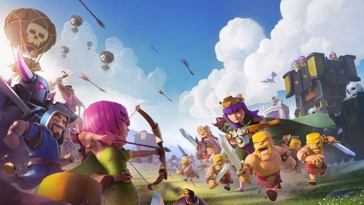 7 jogos parecidos com Clash of Clans