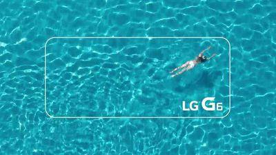 LG G6: novo teaser confirma que o smartphone será resistente à água