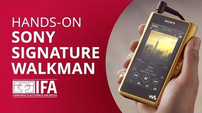 Sony Signature Walkman Série WM1: a reedição de luxo [Hands-on IFA 2016]
