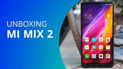 Mi Mix 2, em primeira mão! [Unboxing]