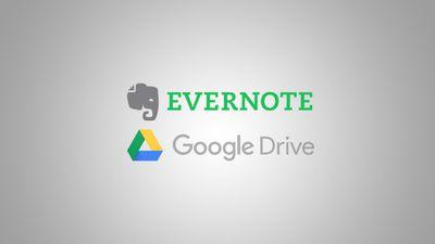 Evernote ganha integração com Google Drive