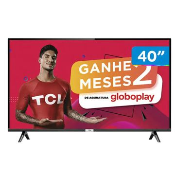 """Smart TV LED 40"""" SEMP TCL 40S6500 Full HD Android - Wi-Fi HDR Inteligência Artificial 2 HDMI USB [CUPOM]"""