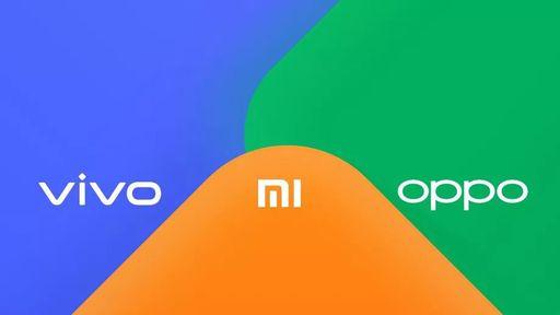 Xiaomi, Oppo e Vivo vão criar sistema de transferência de arquivos entre si