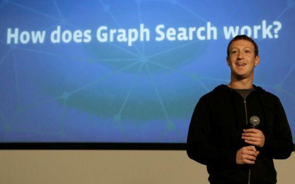 Mark Zuckerberg apresentação Graph Search