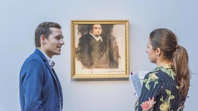 Obra de arte criada por inteligência artificial será leiloada pela primeira vez