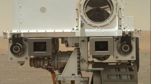 Que fofo! Rover Perseverance tira selfie para lá de simpática em Marte