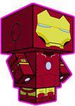 Iron Man Paper Craft