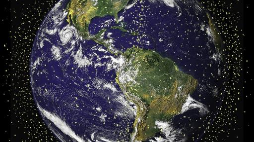 O que é reentrada de lixo espacial? E quais são os riscos?