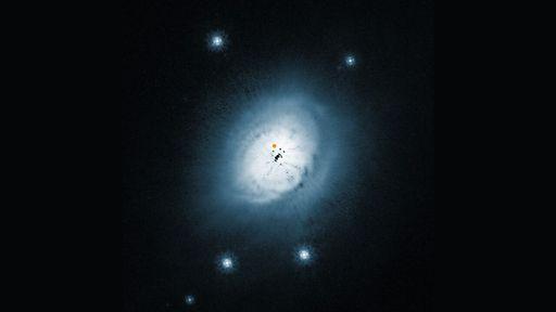 Pela primeira vez, astrônomos encontram metanol em disco protoplanetário quente