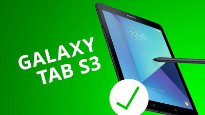 5 motivos para COMPRAR o Galaxy Tab S3