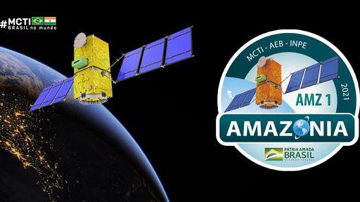 Sucesso! Satélite brasileiro Amazonia-1 é lançado na Índia neste domingo (28)