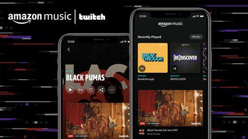 Amazon Music se integra à Twitch e passa a contar com shows ao vivo