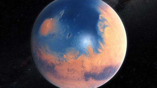 ESA mostra mais provas de que Marte um dia já teve rios em sua superfície