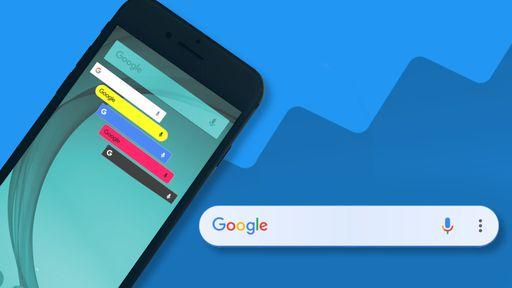 Como personalizar o widget de pesquisa do Google no Android