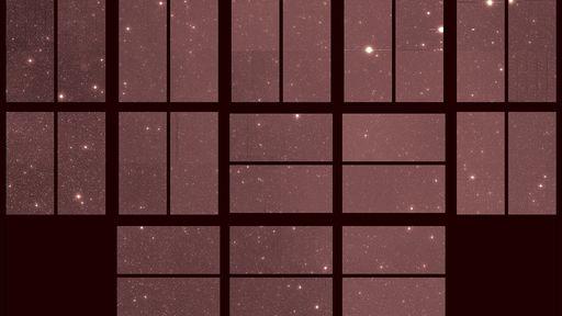 Esta é a última imagem do espaço que o telescópio espacial Kepler registrou