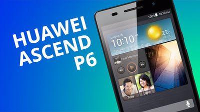 Huawei Ascend P6: um Android muito fino com carinha de iPhone [Análise]