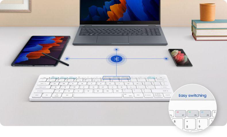 Teclado Samsung Bluetooth Trio 500