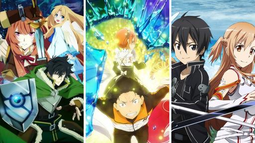 Os 10 melhores animes isekai para assistir