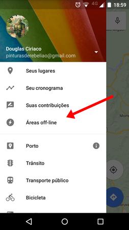 Salvar mapas offline