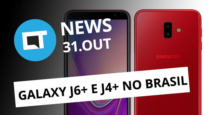 f0dba2f6560 Galaxy J6+ e J4+ no Brasil  Smartphone Nubia X  Preço do Apple Watch 4  CT  News  - Vídeos - Canaltech