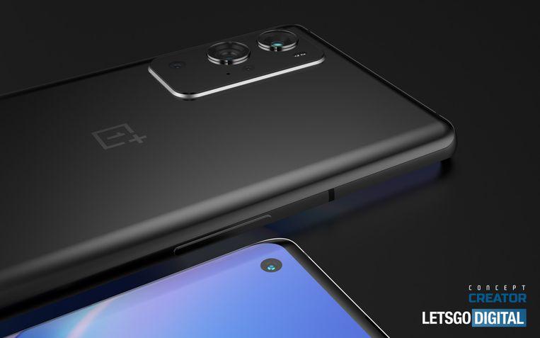 OnePlus 9 e 9 Pro fotos renderizadas