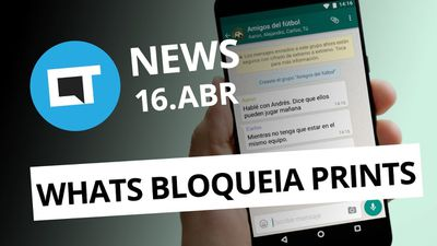 WhatsApp pode bloquear screenshots; PlayStation 5 com gráficos 8K e + [CT News]