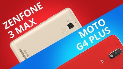 Moto G4 Plus vs Asus Zenfone 3 Max [Comparativo]