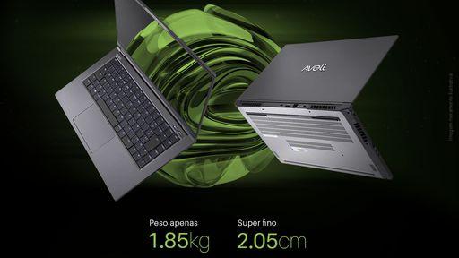 Avell aposta em versatilidade com seu novo notebook A60 MUV Throwback