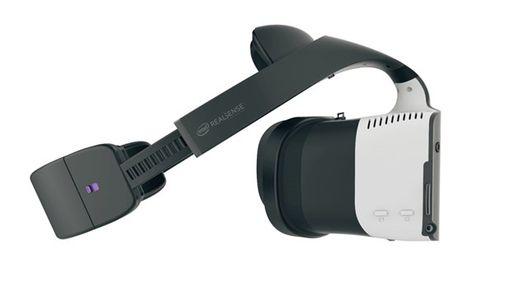 Intel anuncia seu headset de realidade virtual, o Project Alloy