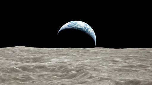 Veja fotos aprimoradas da Lua na visão dos astronautas da Apollo 17