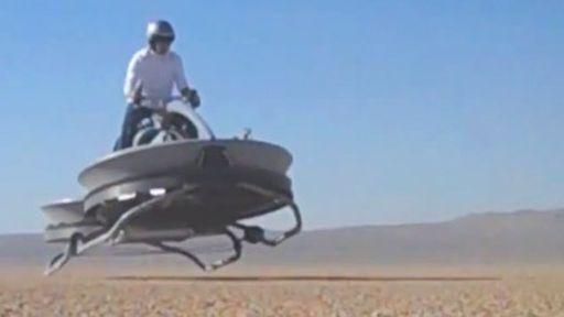 O transporte flutuante de Star Wars está bem próximo da realidade