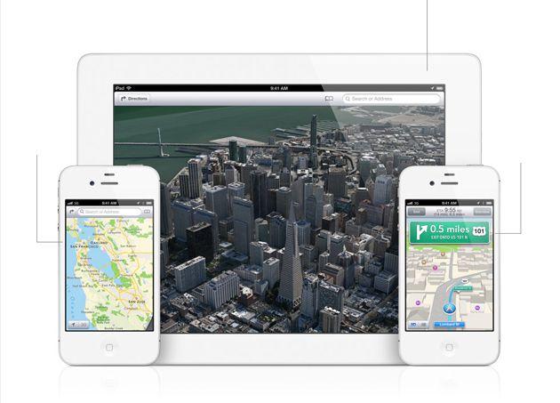 Novo app de Mapas