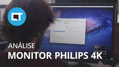 Monitor Philips 288P6LJEB: bem-vindo aos tempos de 4K [Hands-on]