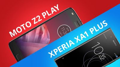 Moto Z2 Play vs Sony Xperia XA1 Plus [Comparativo]